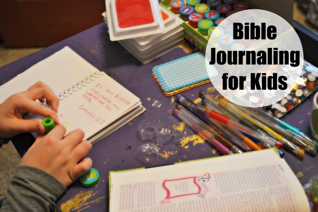 Bible Journaling for Kids 2
