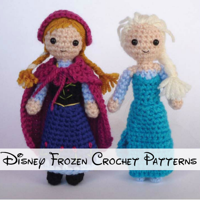 Disney Frozen Crochet Patterns 2