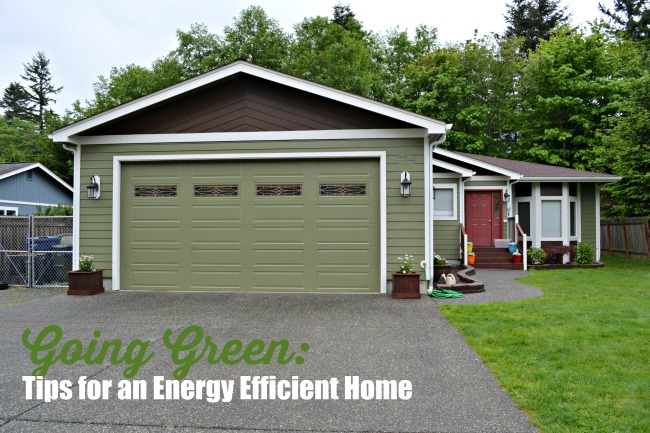 Going Green: Tips for an Energy Efficient Home