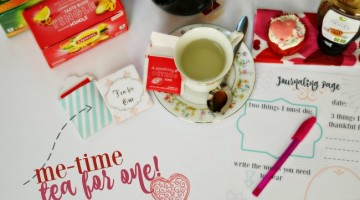 Mid-Morning Me-Time: Tea Party for One