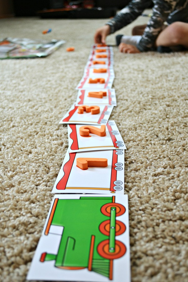 Number Learning Train