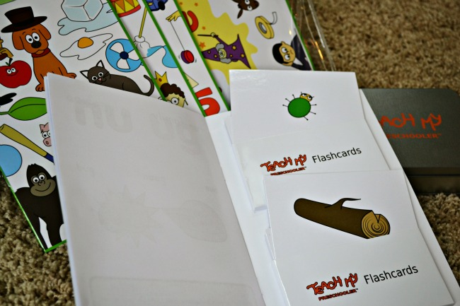 Phonics Flashcards Learn to Read