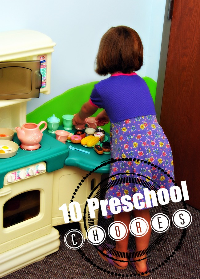 Preschool Chores