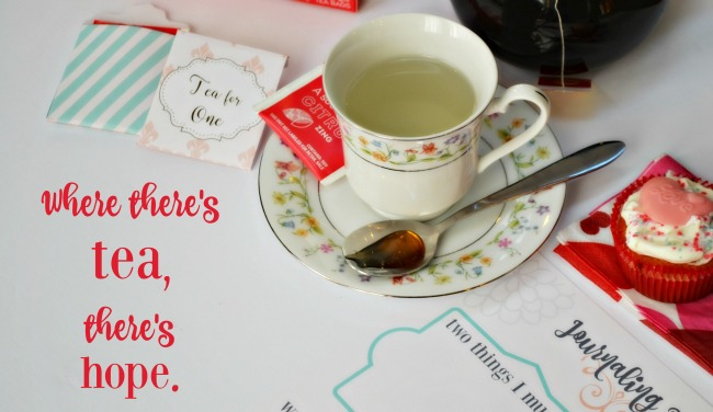 Tea and Hope Quote