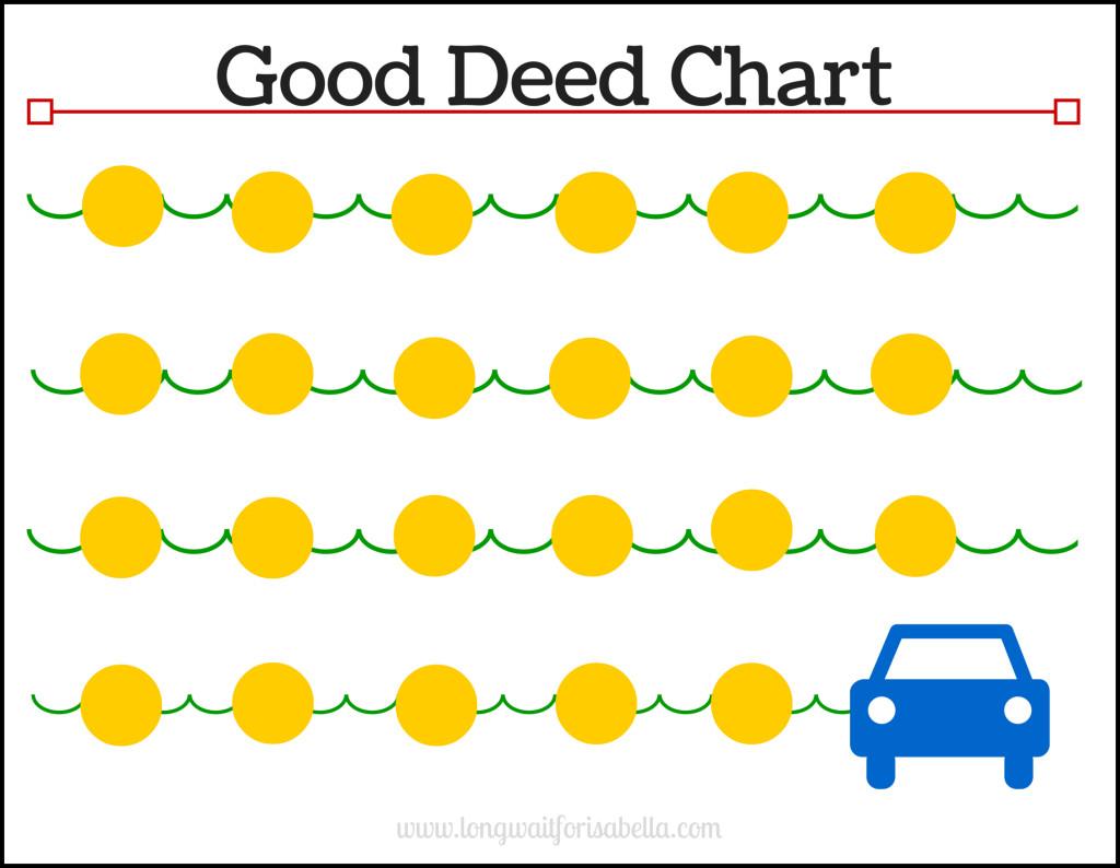 Good Deed Chart