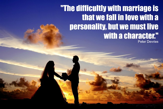 Marriage Character Quote