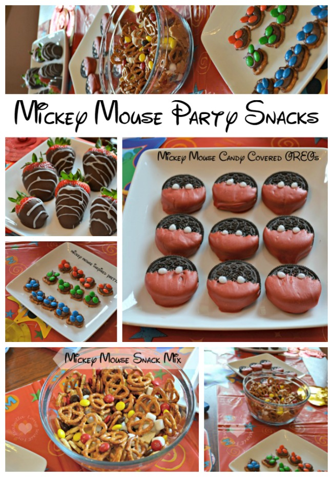 Mickey Mouse Food Ideas