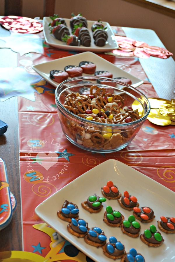 Mickey Mouse Party Snacks