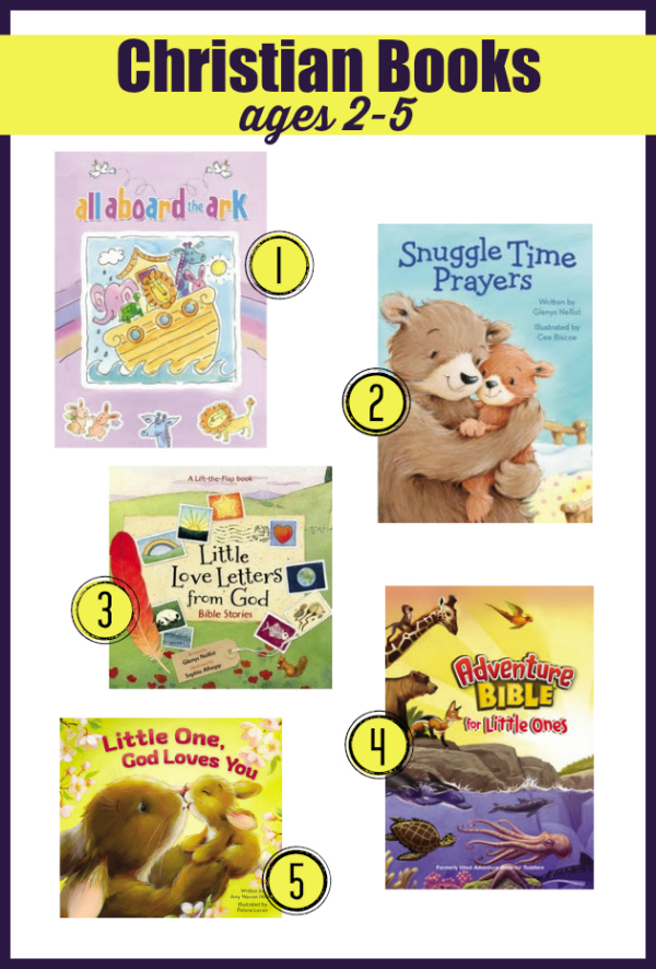 Preschool Christian Books