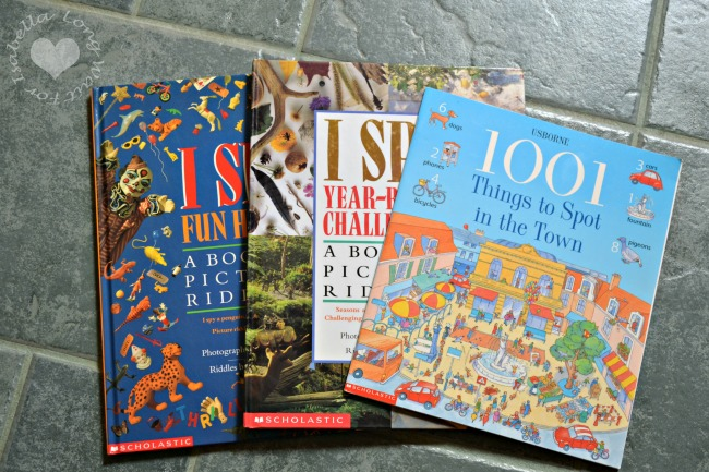 Books from Kids Consignment Sale