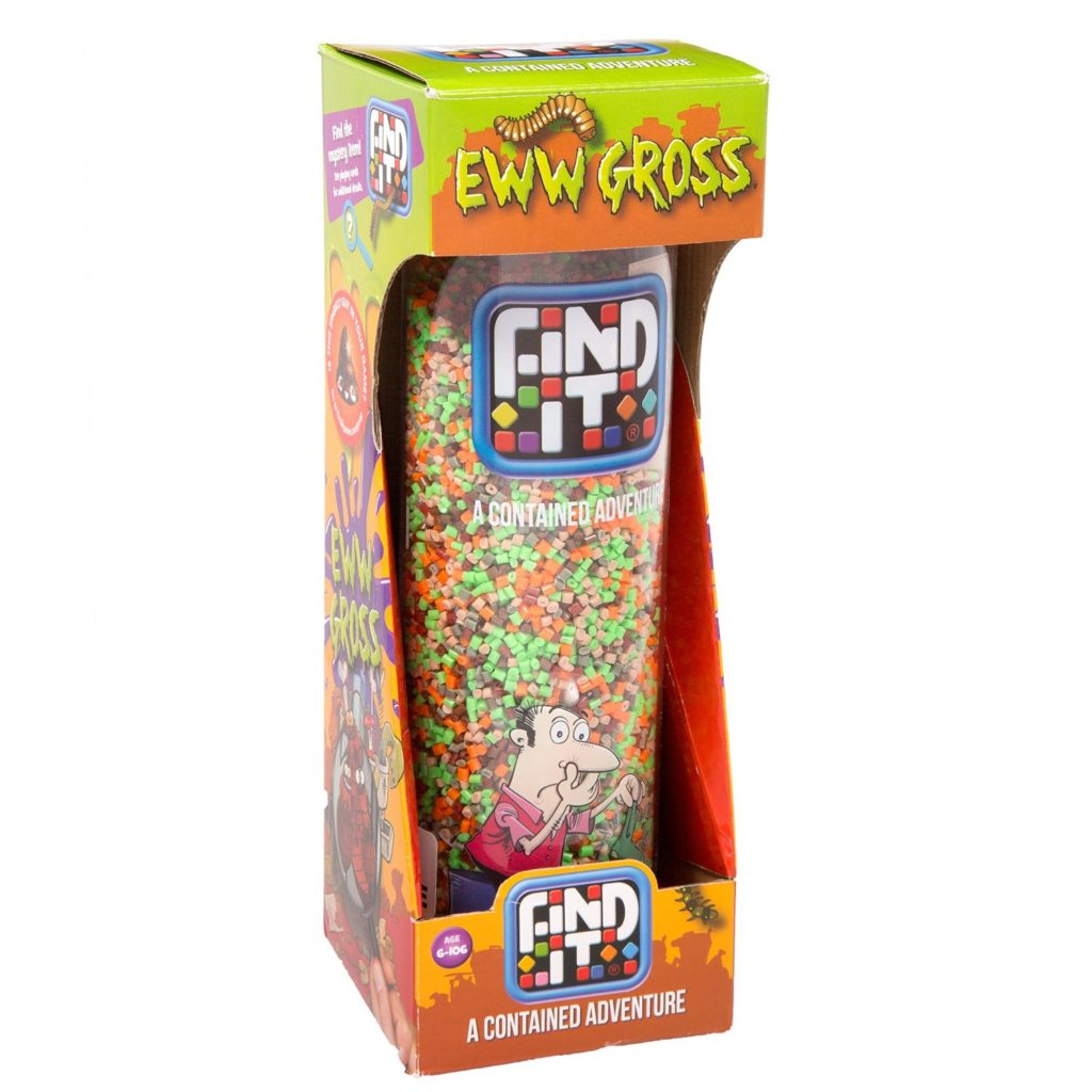 Find It Eww Gross Packaging