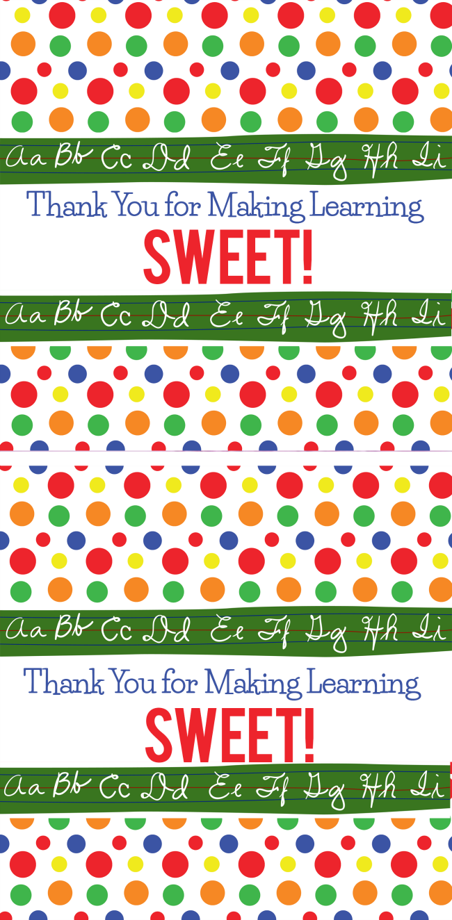 image relating to Printable Teacher Appreciation identified as Trainer Appreciation Sweet Bar Wrapper Printable