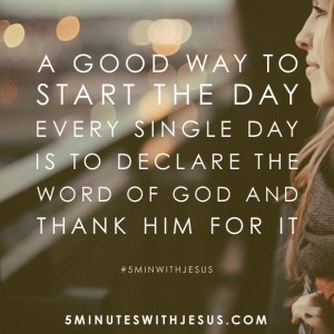 5 Minutes with Jesus Quote