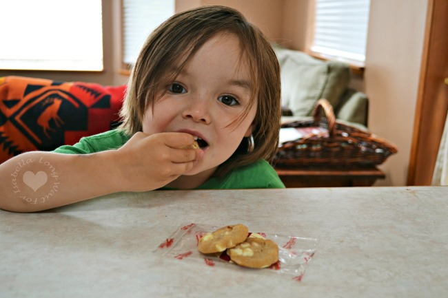 Enjoying Cookies for Family Month