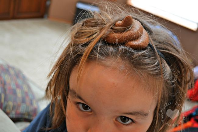 Pile of Poop Headband