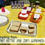 Peanut Butter and Jam Sandwich Bar (Extending Camping in the RV)