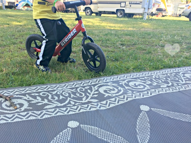 Strider Balance Bike for Camping