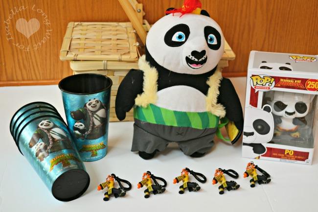 Kung Fu Panda Po Gift Items