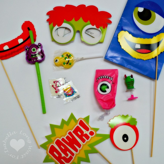 Little Monster Party Favors