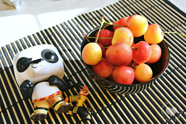 Rainier Cherries for Dessert