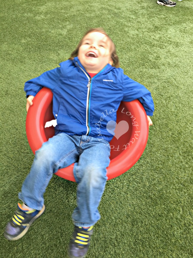 Spinning Seat in Kids' Zone