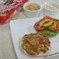 Vegan Garbanzo and Oat Burger