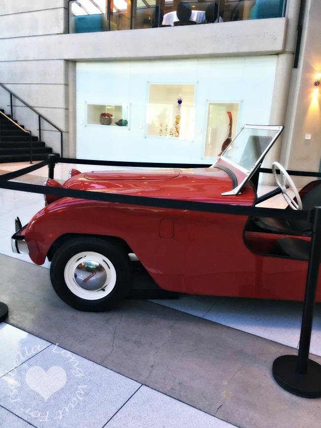 Vintage Car at Hotel Murano