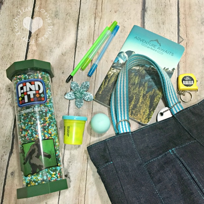 Blue and Green Tween Busy Bag