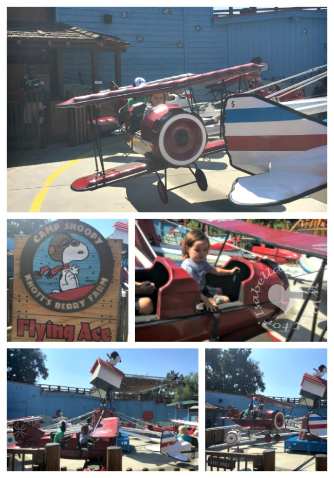 Camp Snoopy Flying Ace Ride
