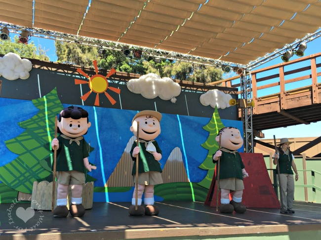Camp Snoopy Live Show