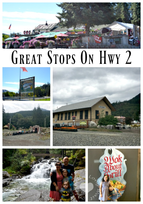 Great Stops on HWY 2