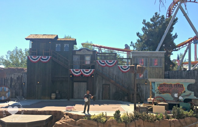Knotts Berry Farm Wild West Show