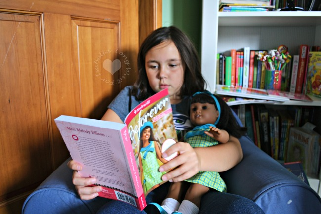 American Girl Beforever Melody and Book