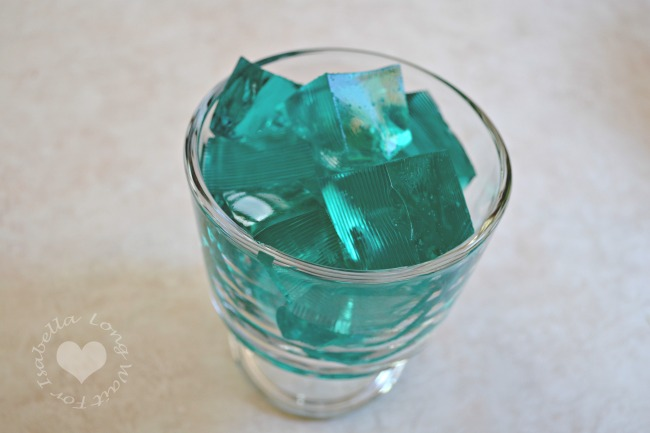 blue-jello-ice-cubes