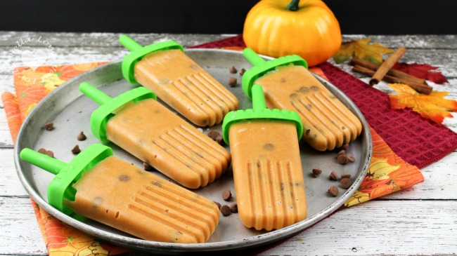 pumpkin pie popsicles