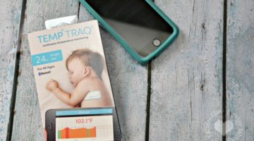 Sick Child? TempTraq: Bluetooth Temperature Monitor