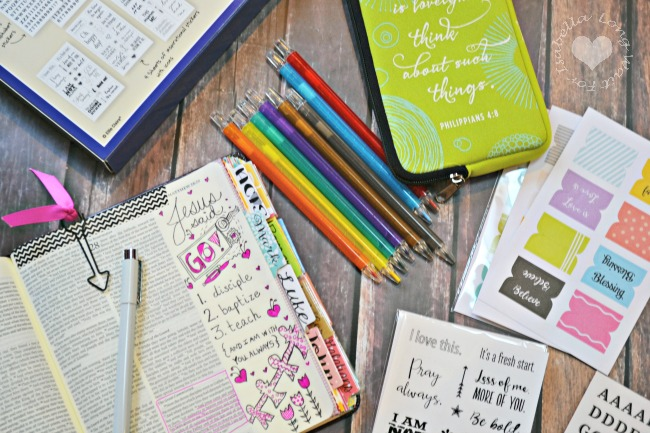 Make Bible Journaling More Simple with the Bible Journaling Kit