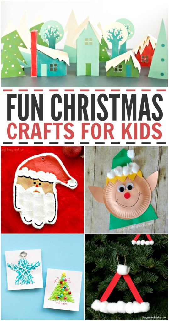 fun-christmas-crafts-for-kids-pinterest