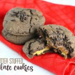 Cake Mix Cookie Recipe: Peanut Butter Stuffed Cookies