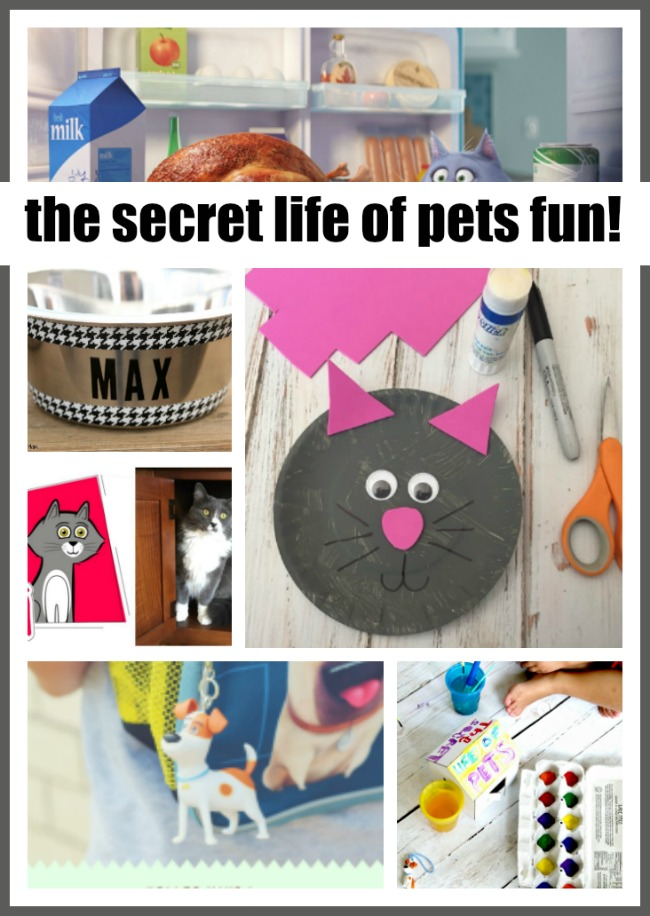 The Secret Life of Pets Crafts and More!
