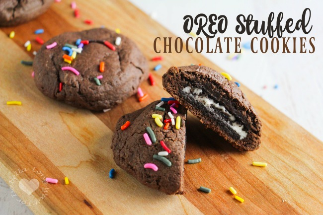OREO Stuffed Cookie Recipe