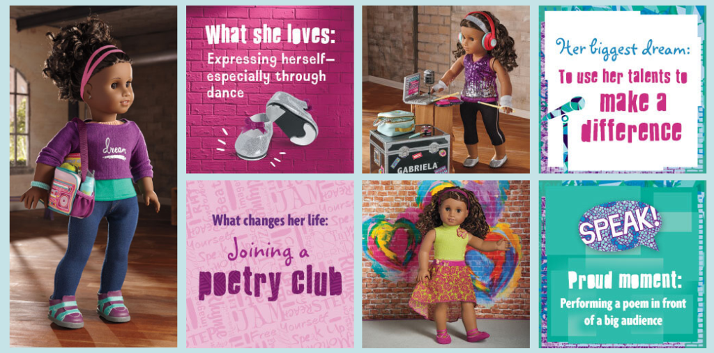 American Girl Valentines
