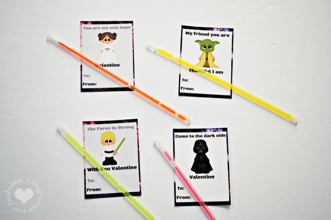 picture regarding Lightsaber Valentine Printable referred to as Star Wars Lightsaber Valentines Card Lengthy Be reluctant For Isabella