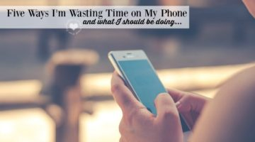 Moms, Here are Five Ways I'm Wasting Time on My Phone
