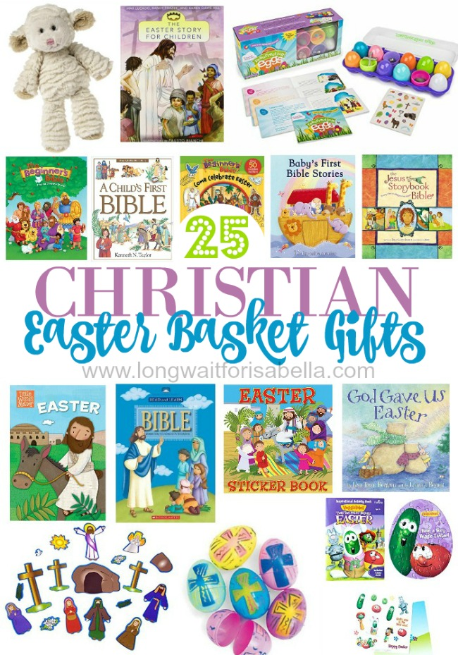 Christian easter basket gifts for kids pin it for later negle Images