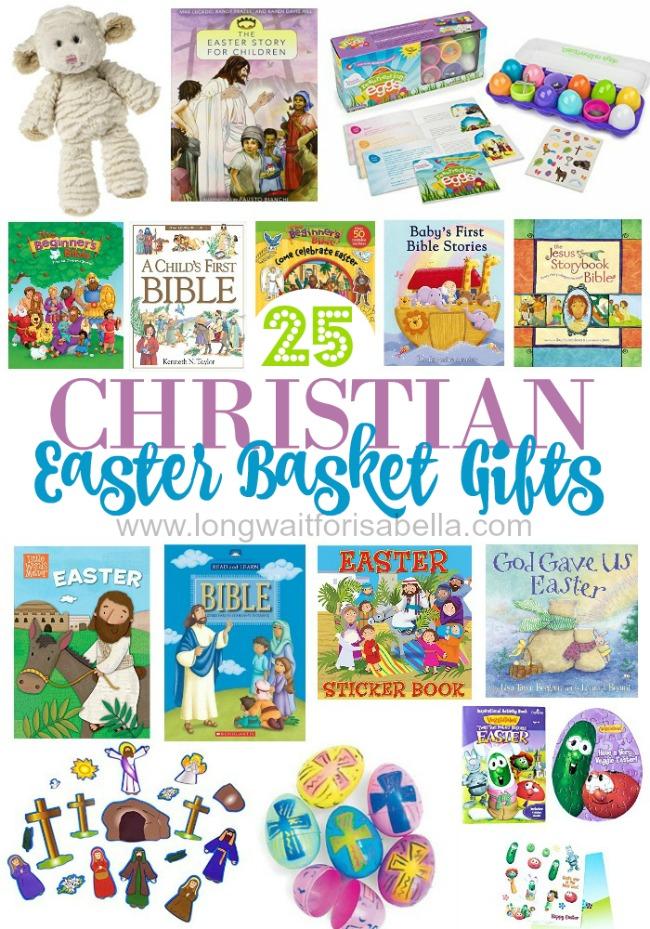 Christian Easter Basket Gifts For Kids