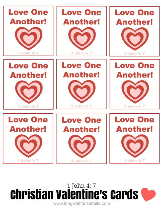 Free Printable Christian Valentines Day Cards – Free Christian Valentine Cards