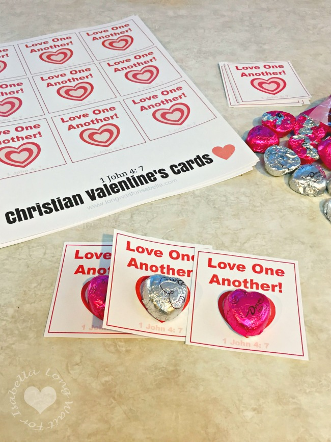 Free Printable Christian Valentine's Day Cards