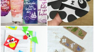 National Reading Month: 20 DIY Bookmarks for Kids