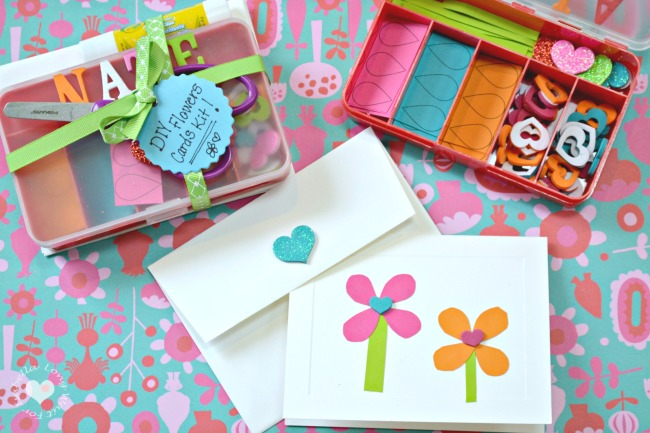 Flowers Cards Kit
